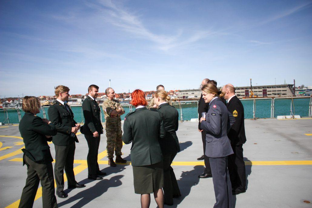 Landstalsmandsmøde på Flådestation Frederikshavn » SOLDATEN